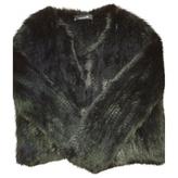 Isabel Marant Black Fur Jacket
