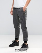 Ellesse Skinny Joggers With Gold Logo
