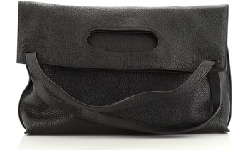 Tom Ford Cut Out Handle Flat Tote Leather Large