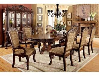 "Astoria Grand Cheeseman Walnut Solid Wood Dining Table Size: 31.5"" H x 78"" W x 46.25"" D"