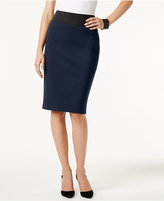 INC International Concepts Petite Pull-On Pencil Skirt, Only at Macy's