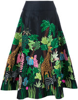 Manish Arora Safari embellished midi skirt - women - Polyester - 38