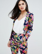 Floral Blazer - ShopStyle