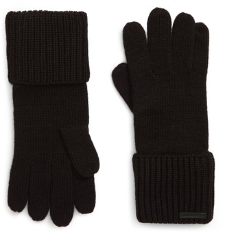 AllSaints Cuffed Knit Gloves