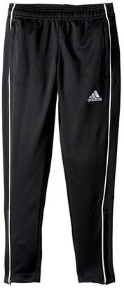 adidas Kids Core 18 Training Pants (Little Kids/Big Kids) (Black/White) Boy's Casual Pants