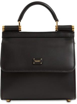 Dolce & Gabbana 58 Mini Leather Top Handle Bag