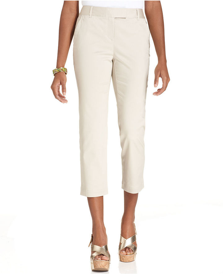 Charter Club Sateen Capri Pants