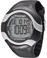 Freestyle Men's 101183 Workout 76 Lap Recall 5 Timers Backlight Watch
