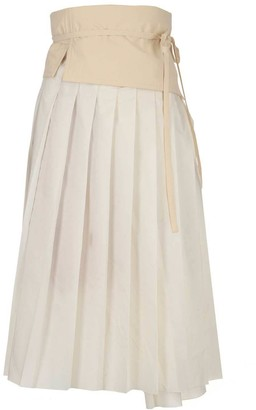 MONCLER GENIUS Moncler 1952 Pleated Midi Skirt