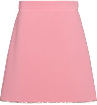 Miu Miu Crystal Trim Skirt