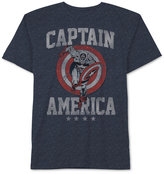 JEM Men's Captain America Run Through Graphic-Print T-Shirt