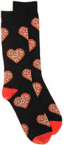 K. Bell Men's Pizza Men's Crew Socks