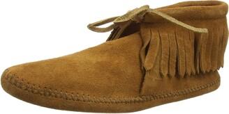 Minnetonka Men's Classic Fringe Ankle Boots