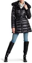 Dawn Levy Gabbi Faux Fur Trim Down Jacket
