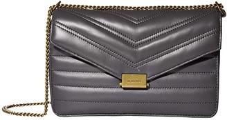 AllSaints Justine Small Crossbody (Graphite Grey) Handbags