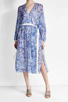 Agnona Printed Silk Chiffon Dress