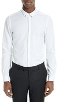 The Kooples Men's Skull Detail Faille Sport Shirt