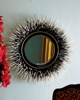 "Janice Minor Porcupine Quill"" Mirror"