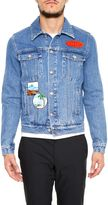 Kenzo Denim Jacket With Patches
