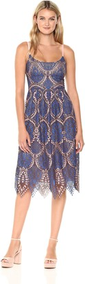BCBGMAXAZRIA Azria Women's Antonina Lace Woven Dress