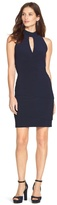White House Black Market Mock Neck Instantly Slimming Dress
