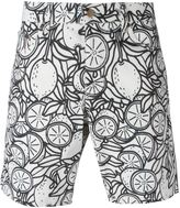 Ami Alexandre Mattiussi lemon print bermuda shorts