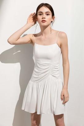 J.ING Hermia White Fairy Mini Dress