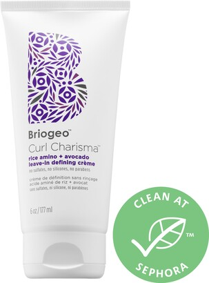 BRIOGEO Curl Charisma Rice Amino + Avocado LeaveIn Defining Cream