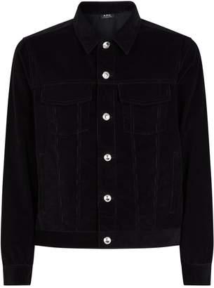 A.P.C. Velvet Corduroy Jacket