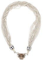 Lagos Two-Tone Quartz Multistrand Necklace
