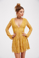 Free People Womens REIGN OVER ME LACE DRESS