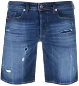 Diesel Bustshort Denim Shorts Blue
