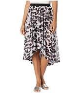 Tribal Women's HIGH Low Faux WRAP Skirt