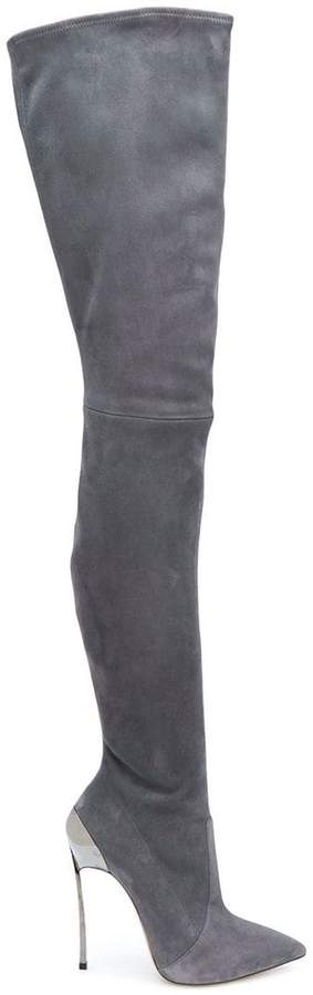 Casadei Techno Blade over-the-knee boots