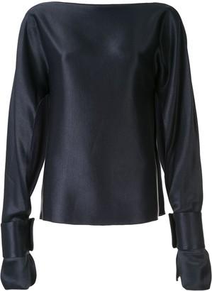 CHRISTOPHER ESBER Ilona long-sleeved blouse