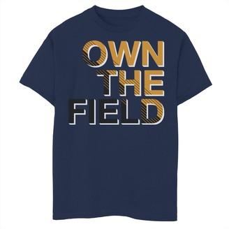 Fifth Sun Boys 8-20 Baseball Own The Field Graphic Tee