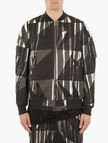 Rick Owens Drkshdw Camouflage Flight Jacket