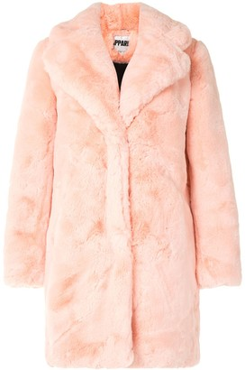 Apparis Sasha oversized faux-fur coat