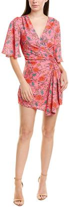 Finders Keepers Finderskeepers Hana Faux Wrap Dress
