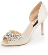 Badgley Mischka Candance Peep Toe Pumps