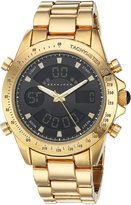 Sean John Men's 10030884 Classic Analog Display Japanese Quartz Gold Watch