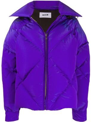 MSGM Hooded Padded Jacket