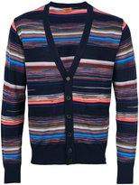 Missoni striped V-neck cardigan - men - Polyamide/Wool - 48