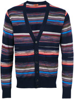 Missoni striped V-neck cardigan - men - Polyamide/Wool - 50