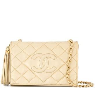 Chanel Pre Owned 1989-1991 fringe chain shoulder bag