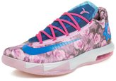 "Nike Mens KD VI Supreme ""Aunt Pearl"" Light Arctic /Photo Blue Synthetic Basketball Shoes Size 11"