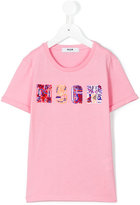 MSGM logo T-shirt - kids - Cotton - 6 yrs