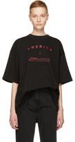 Raf Simons Black america Big T-shirt
