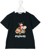 Dolce & Gabbana #dgfamily embroidered t-shirt - kids - Cotton - 3 yrs