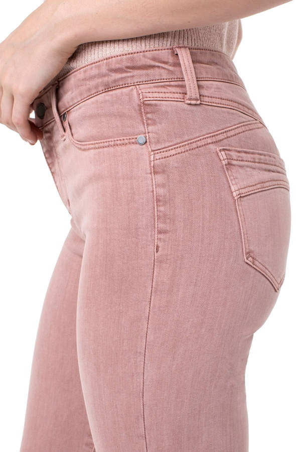 Liverpool Pink Piper Ankle Skinny Jean